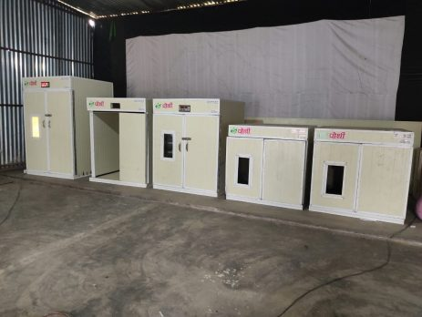 Poultry Incubator using Sandwich PUF Panel